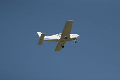 Small light aircraft Stock Photo