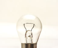A small light bulb Royalty Free Stock Photography