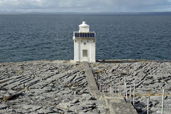 Small lighthouse Royalty Free Stock Photo
