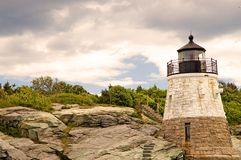 Small lighthouse royalty free stock image