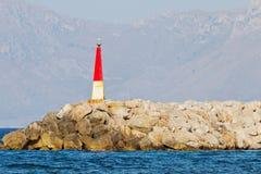 Small lighthouse Stock Photos