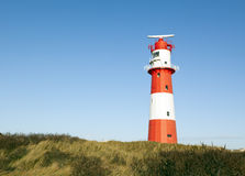 Small lighthouse at Borkum Royalty Free Stock Photo