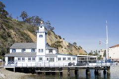 Small Lighthouse - Catalina Island Royalty Free Stock Photo