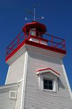Small Lighthouse, Trois-rivières, Canada. This lighthouse is near St-Lawrence river. Camera: Nikon D50 stock images