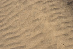 Small Lines of Desert Sand Stock Photos