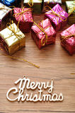 Small little gifts Royalty Free Stock Photo