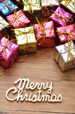 Small little gifts Royalty Free Stock Image