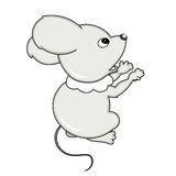 Small little mouse. Stock Photo