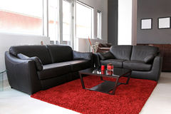 Small living room Royalty Free Stock Images