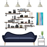 Small Living Room Stock Image