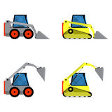 Small loaders set Royalty Free Stock Photography