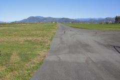 Small Local Aircraft Runway Stock Images