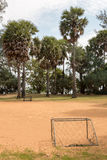 Small local soccer field in Thailand Stock Photography