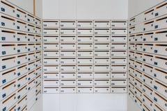 Small locker. For condominium, school, university Royalty Free Stock Photos