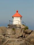 Small Lofoten's lighthouse Stock Photos