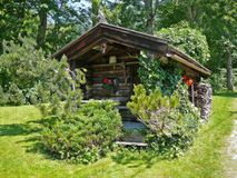 Small log cabin Royalty Free Stock Photo