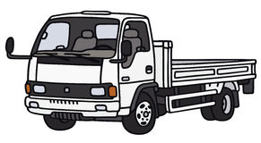 Small lorry truck Stock Image