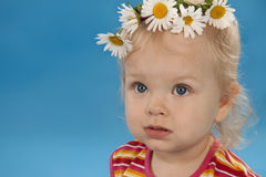 Small lovely girl Royalty Free Stock Images