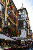 Small lovely houses Strasbourg Stock Photo