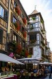 Small lovely houses Strasbourg Stock Photo