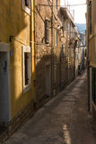 Small lovely street Stock Photography