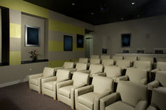 Small Luxurious Theater Stock Photos