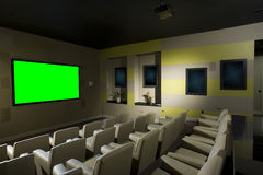 Small Luxurious Theater Royalty Free Stock Images
