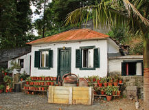 Small Madeiran House Royalty Free Stock Photos