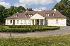 Small manor house Royalty Free Stock Photo