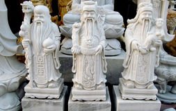 Small marble asian souvenirs in Da Nang, Vietnam Royalty Free Stock Photos