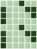 Small marble tiles green square shiny Royalty Free Stock Photography