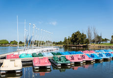 Small marina Royalty Free Stock Image