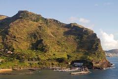 Small marina on Madeira. Small marina on the island of Madeira Stock Photos