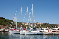Small Marina Of Portisco Royalty Free Stock Photos