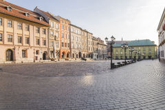 A small market in Krakow Royalty Free Stock Images