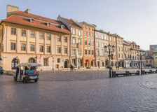 A small market in Krakow Stock Photography