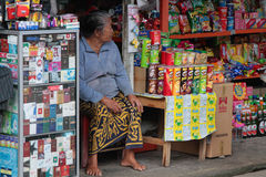 A small market store in Bali Royalty Free Stock Images