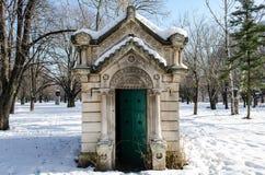 Small mausoleum Royalty Free Stock Photo