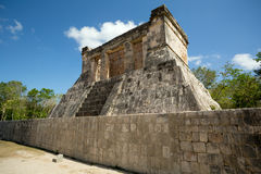 Small Mayan temple Stock Photography