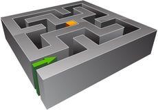 Small maze Stock Photo