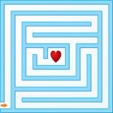 Small maze Royalty Free Stock Image