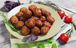Small meat balls Stock Image