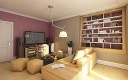 Small Media Room royalty free illustration