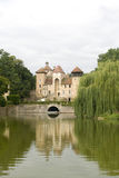 Small medieval castle in France Royalty Free Stock Photos