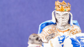 Small medieval knight Royalty Free Stock Photo