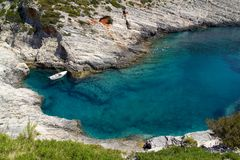 Small Mediterranean Bay Stock Photography