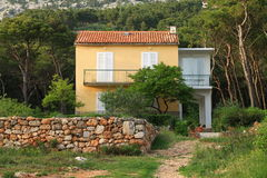 Small Mediterranean house Royalty Free Stock Photos