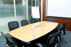 Small meeting room stock photo