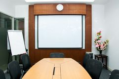Small meeting room royalty free stock photography