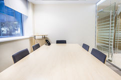 Small meeting room. Modern bright office Stock Image